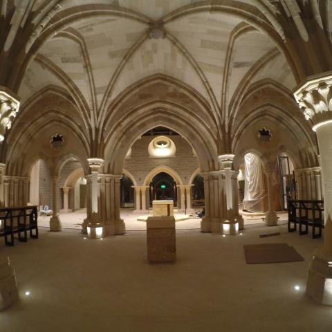 Interior of Medieval Space